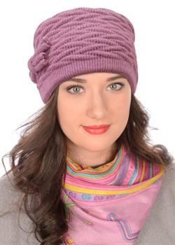 Вязаная шапка-кубанка ТД-434 - фото 10713
