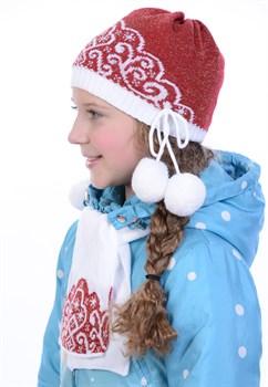 Детский комплект Дети-21 красный - фото 10842