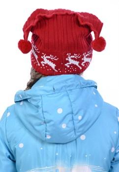 Новогодняя шапка ТД-72 красная - фото 10851