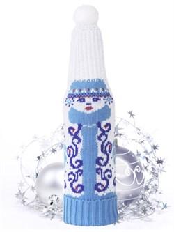 """ТД-301 чехол для шампанского """"Снегурочка"""" - фото 10875"""