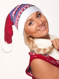 Новогодняя шапка ТД-290 мультиколор - фото 10940