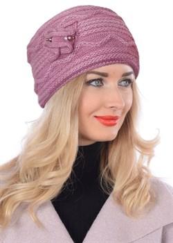 Вязаная шапка-кубанка ТД-432 - фото 10990