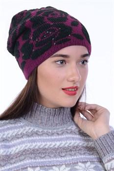 Вязаная шапочка ТД-441 - фото 11237