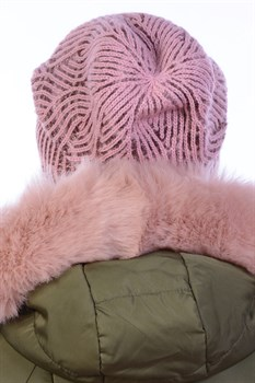 Вязаная шапка ТД-452 - фото 11281