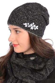 Вязаная шапка ТД-440 - фото 11302