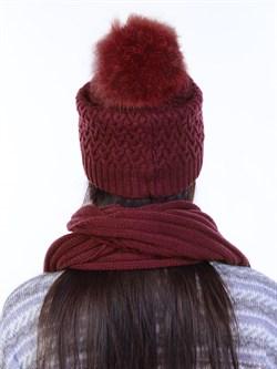 Вязаная шапка ТД-446 - фото 12434