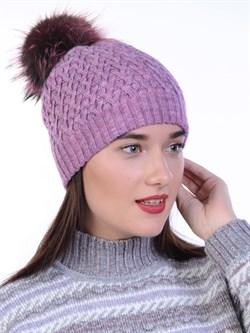 Вязаная шапка ТД-446 - фото 12456