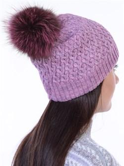 Вязаная шапка ТД-446 - фото 12457