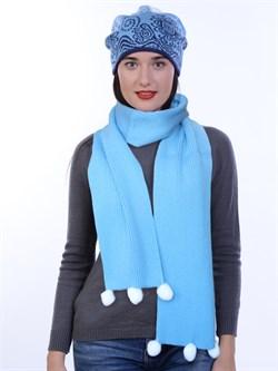 Новогодний шарф ТД-464А - фото 12519