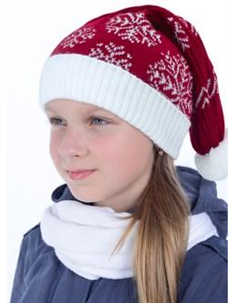 Новогодняя шапка ТД-16/2 красная - фото 12530