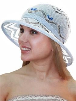 Шляпа летняя ТЛ-165 голубой 1