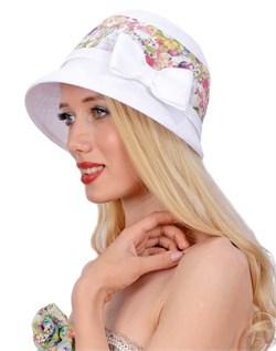Шляпа летняя Л-268 луговые цветы 1
