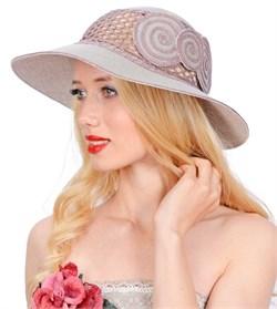 Шляпа летняя Л-205/2 серо-коричневый 1