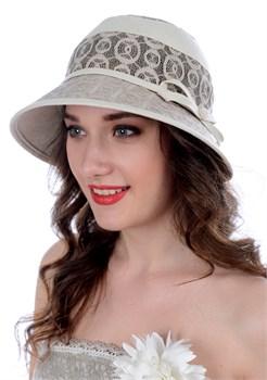 Летняя шляпа Л-280 бежевая