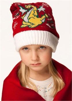 Детская шапочка Дети-43 красная
