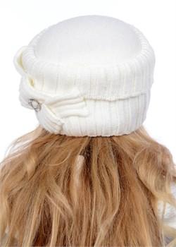Вязаная шапка-кубанка ТД-405 молочный Сиринга-стиль   2