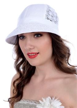 Летняя кепка Л-279 белая Сиринга-стиль