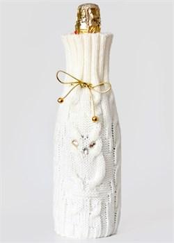 "Сувенирный чехол на бутылку ТД-414/2 ""Сова"" Сиринга-стиль"