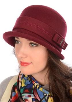 Шляпа женская классическая Д-563/2 вино Сиринга-стиль