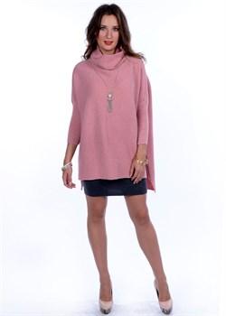 Туника трикотажная женская ВТД-01 розовая Сиринга-стиль