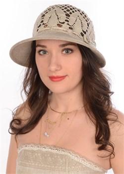 Шляпа летняя Л-301 серая 1