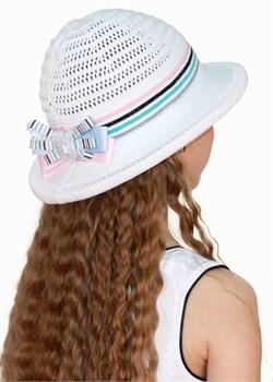 Шляпка детская летняя Дети/ТЛ-42/2 белый-розовый-бирюза Сиринга-стиль