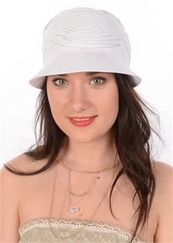Летняя женская бандана Л-189 белая