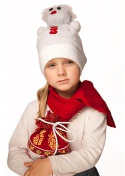 "Вязаная шапка ТД-221 ""Снеговик"""