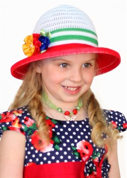 Детская летняя шляпка Дети/ТЛ-43/4 - фото 9642