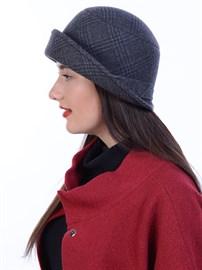 Шляпа Д-463/4 антрацитовая-темно-серая