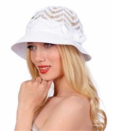 Шляпа летняя Л-208 белый 1