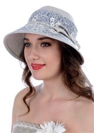 Летняя шляпа Л-280 серая