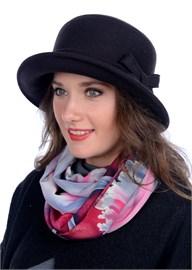 Шляпа женская Д-264А горький шоколад