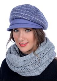 Женская кепка трикотажная Д-470/1 клематис от Сиринга-стиль