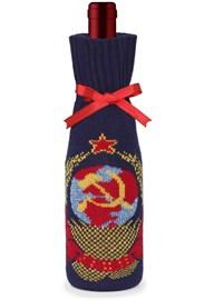 """Подарочный чехол на бутылку ТД-414/18 """"СССР"""" Сиринга-стиль"""
