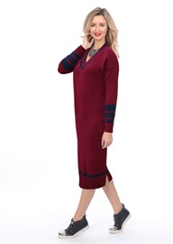 Платье ВТД-04 вишневое