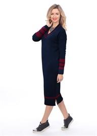 Платье ВТД-04 темно-синее