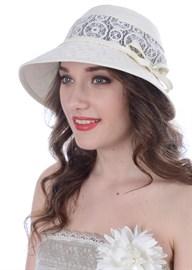 Летняя шляпа Л-280 светло-бежевая