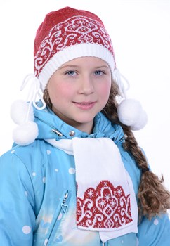 Детский комплект Дети-21 красный - фото 10841