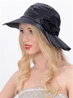 Классическая шляпа Л-246 черная - фото 11564