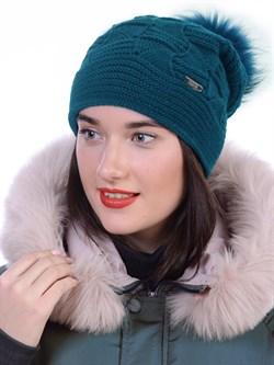 Вязаная шапка ТД-445 - фото 12401