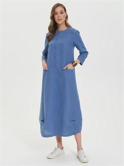 Платье льняное ПЛЛ-06 - фото 17513