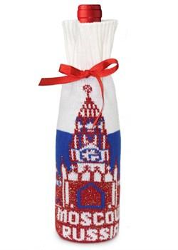 """Подарочный чехол на бутылку ТД-414/21 """"Москва"""" Сиринга-стиль"""