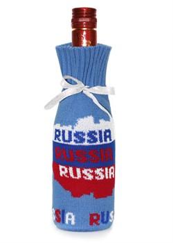 """Подарочный чехол на бутылку ТД-414/20 """"Россия"""" Сиринга-стиль"""