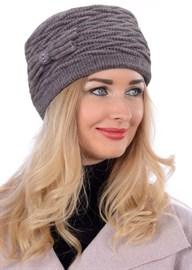 Вязаная шапка-кубанка ТД-434