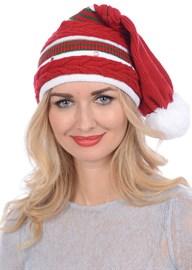 Новогодняя шапка ТД-134 красная