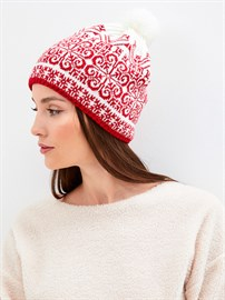 Вязаная шапка ТД-429