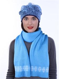 Новогодний шарф ТД-16А