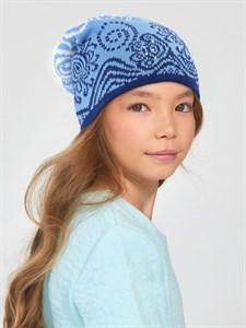 Вязаная шапка ТД-459