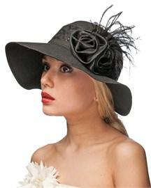 Шляпа летняя Л-293 черный 1